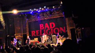 The Gray Race / Atomic Garden / The Hopeless Housewife - Bad Religion - Ogden Theater Denver, CO 3/