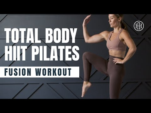 HIIT Pilates Workout // Total Body Fusion Workout (No Equipment)