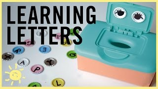 PLAY | 3 Fun Ways to Learn LETTERS!