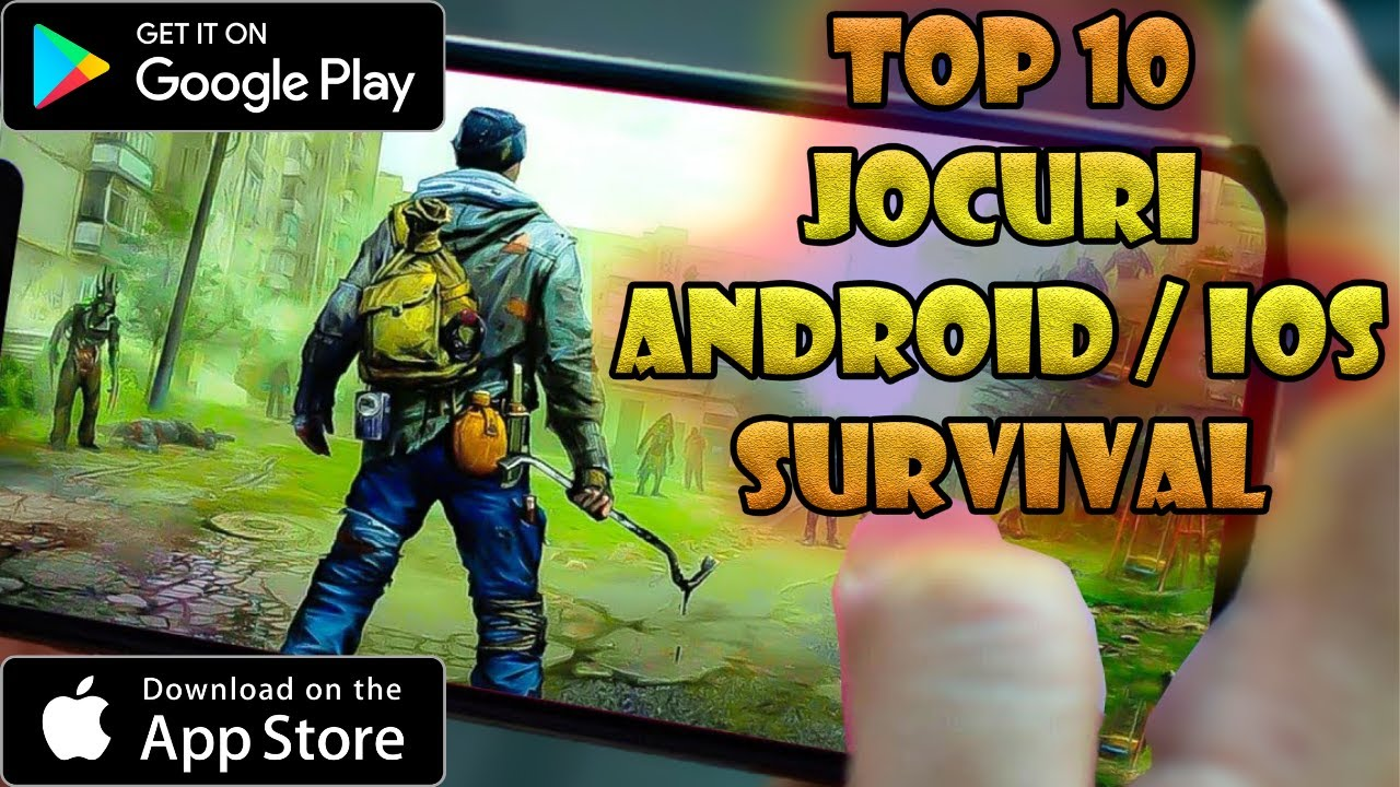 TOP 10 Jocuri ANDROID & IOS Survival 2020 | Jocuri pe Telefon