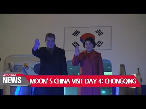 South Korean President Moon Jae-in focus on history, business cooperation in Chongqing