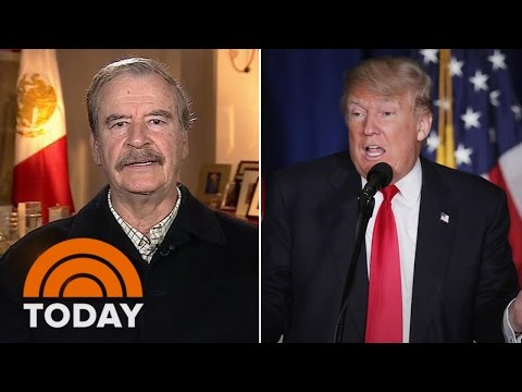 Former Mexican President Vicente Fox: 'We're Ready For The Trade War' | TODAY