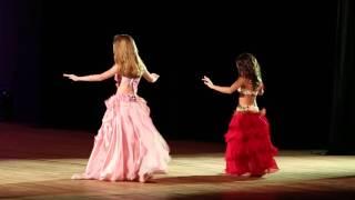 Moderna Infantil - 5º Festival Escola de Dança do Ventre Rosi Cruz 2014