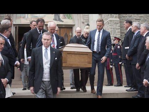 Singer Michael Burgess recalled as generous 'icon' at funeral