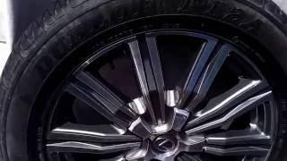 Диски с шинами на Lexus LX 570 2016 г 20 радиус Новые