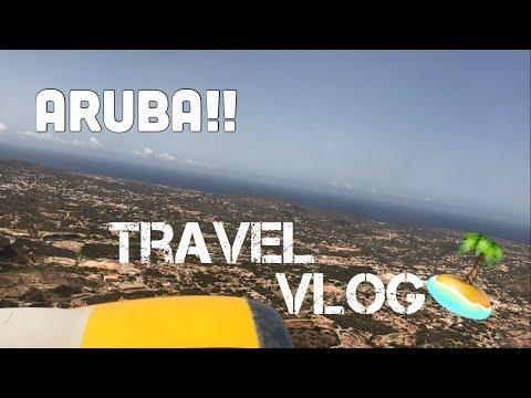 Aruba Travel Vlog + GRWM   Valeria's Makeup