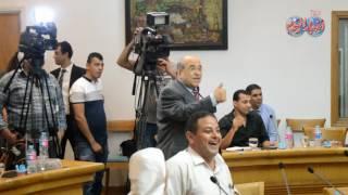 إختفاء كتابين من الدكتور مصطفى الفقى يثير ضجة داخل المؤتمر الصحفى لوزير الثقافة