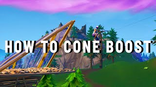 Gambar cover How To Cone Boost In Fortnite (EJ DASH)