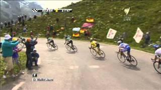 Tour de France Col du Galibier Descent