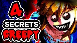 4 SECRETS CREEPY SUR ZELDA