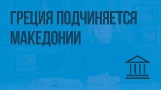 Греция подчиняется Македонии. Видеоурок по Всеобщей истории 5 класс
