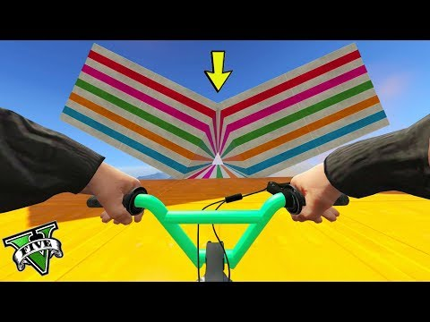 GTA 5 ONLINE 🐷 BMX PARKOUR !!! 🐷 GARE PARKOUR 🐷N*306🐷 GTA 5 ITA 🐷 DAJE !!!