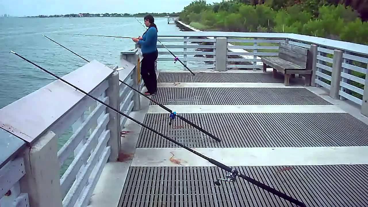 Bill baggs el farito fishing 5 15 2012 youtube for Fishing spots in miami