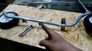 DIY kick scooter Build FAIL