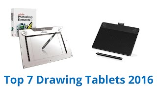 7 Best Drawing Tablets 2016