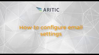 How to Configure Email Setting in Aritic PinPoint?