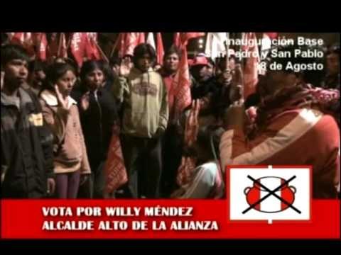 WILLY MENDEZ INAUGURA BASE SAN PEDRO Y SAN PABLO