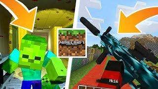 SAIU!! COMO TER UM APOCALIPSE ZOMBIE NO MINECRAFT PE! 😱 (Minecraft Pocket Edition)