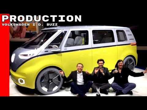 Volkswagen I.D. BUZZ Electric Vehicle To Go Into Production
