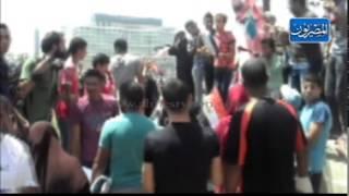 نزول قوات حماية المواطنين لميدان التحرير