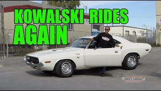 Fully Restored 1970 Challenger R/T - Kowalski Rides Again
