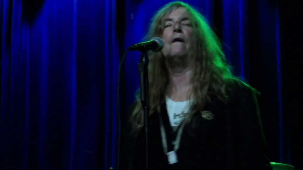 Patti smith pissing impossible