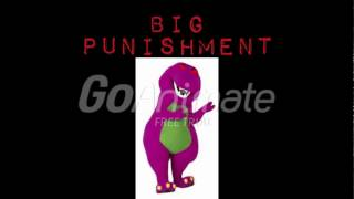 Barney Error 20 with Punishments (READ DESC)