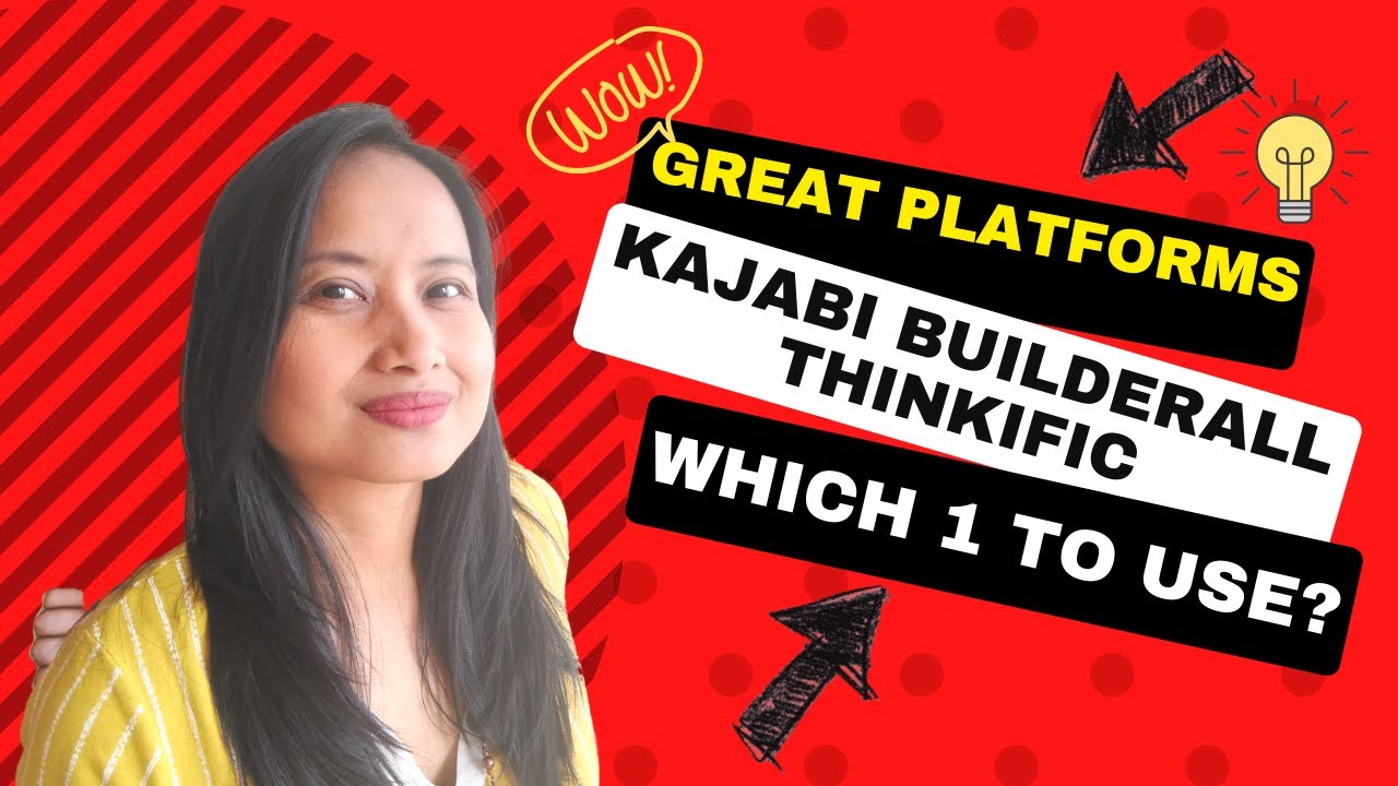 ⏯ KAJABI vs THINKIFIC vs BUILDERALL  2019 walk troughs