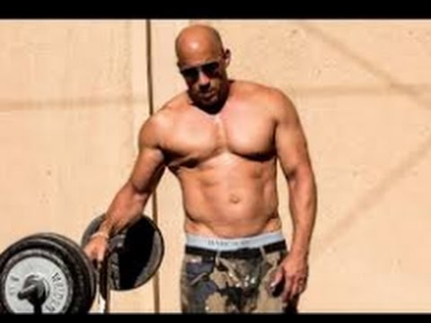 VIN DIESEL WORKOUT 2017 - FAST AND FURIOUS 8 - YouTube