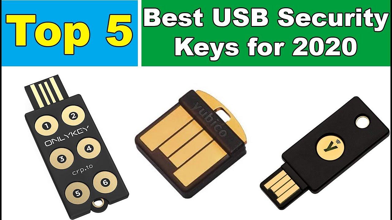 The 5 Best USB Security Keys for 2020 [ Black Friday Deals 2020 ]