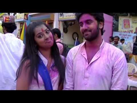 Veera Special HOLI SHOOT On Location : 12th March 2014 Episode 363