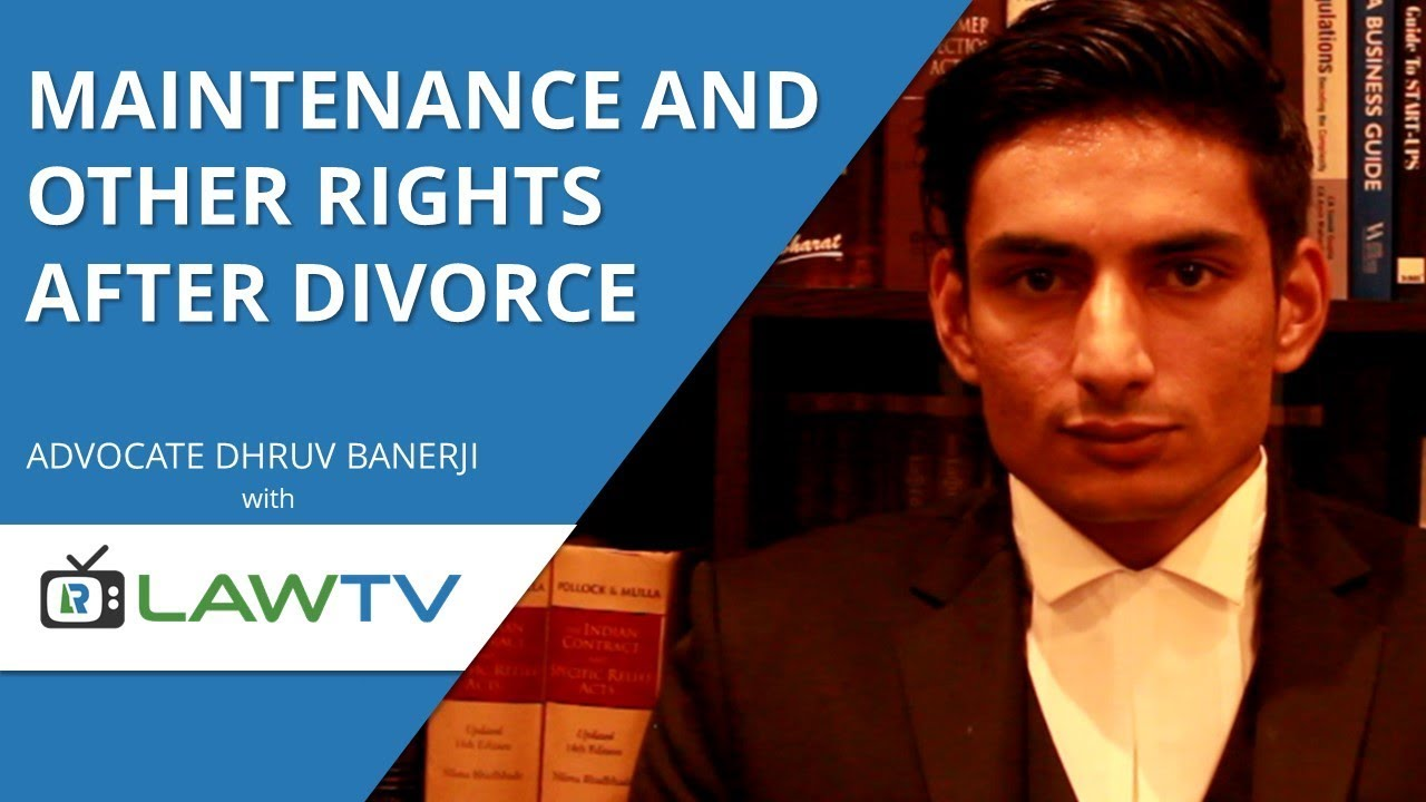 maintenance for child after divorce in india
