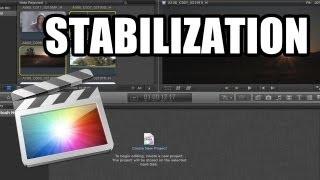 Final Cut Pro X - #23: Estabilización de cámara