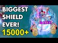BIGGEST SHIELD EVER! 15864 HP SHIELD!