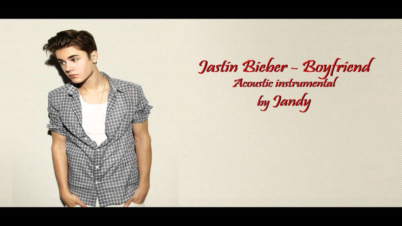 Justin Bieber Boyfriend Acoustic Instrumental Cover By Jandy