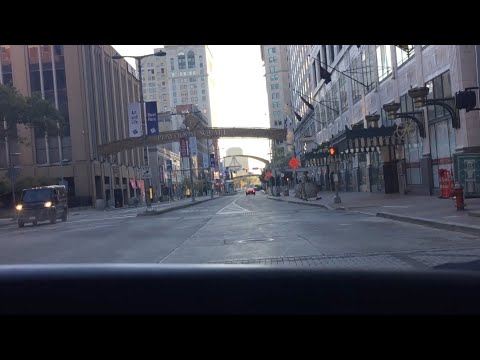 Downtown Cleveland Ohio USA
