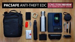 Pacsafe Venturesafe Anti-Theft EDC Crossbody Bag | Every Day Carry Long Term Review