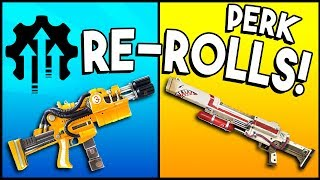 FREE Perk Re-Rolls & FREE Weapon Upgrades! - Fortnite - PERK RECOMBOBULATOR!