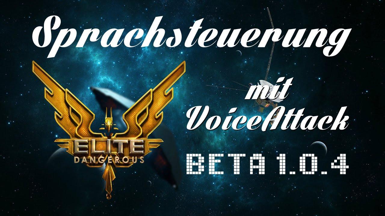 Elite Dangerous | Sprachsteuerung mit Voice Attack | Tutorial | Gameplay |  deutsch/German