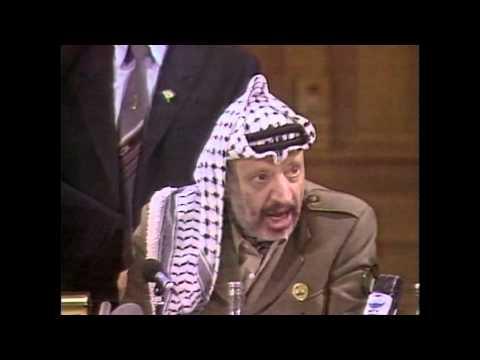 Arafat et Christine St-Pierre