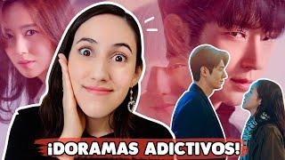 TOP DRAMAS COREANOS MÁS ADICTIVOS 😱 NO PODRÁS PARAR DE VERLOS!!!   HelloTaniaChan