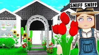 I Opened A Flower Shop ON BLOXBURG... but it got ROBBED! (Roblox)
