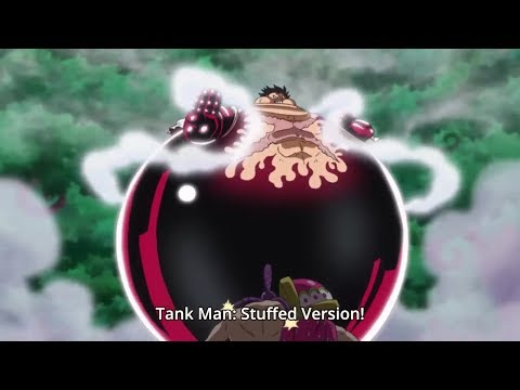Luffy VS Cracker (Gear 4 Tank Man) - One Piece Episode 806 - English Dubbed