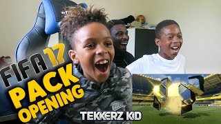 FIFA 17 TEAM OF THE SEASON PACK OPENING?? | Tekkerz Kid