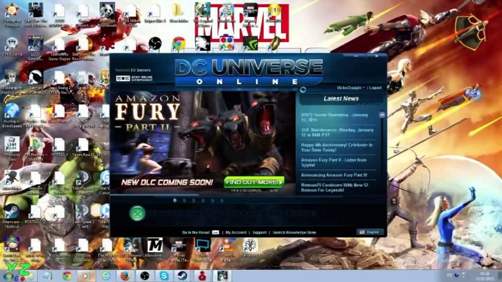 Error 11001    | DC Universe Online Forums