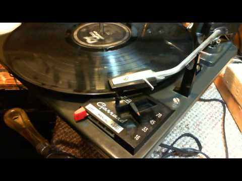 Garrard Model 3000 Record Player Video #4 - Mechanical Restoration