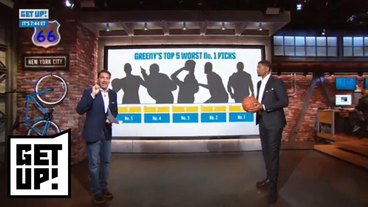 Mike Greenberg and Jalen Roses worst NBA No. 1 draft picks ever | Get Up! | ESPN