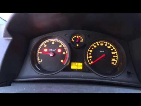 Запуск дизеля Opel Astra 1.3 cdti Cold start disel