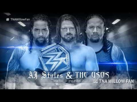 WWE Mashup: AJ Styles & The Usos 2019 ᴴᴰ [NEW]