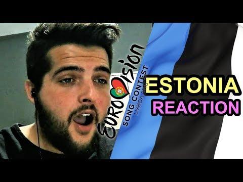 Eurovision 2018 Estonia - REACTION & REVIEW [Elina Nechayeva - La Forza]